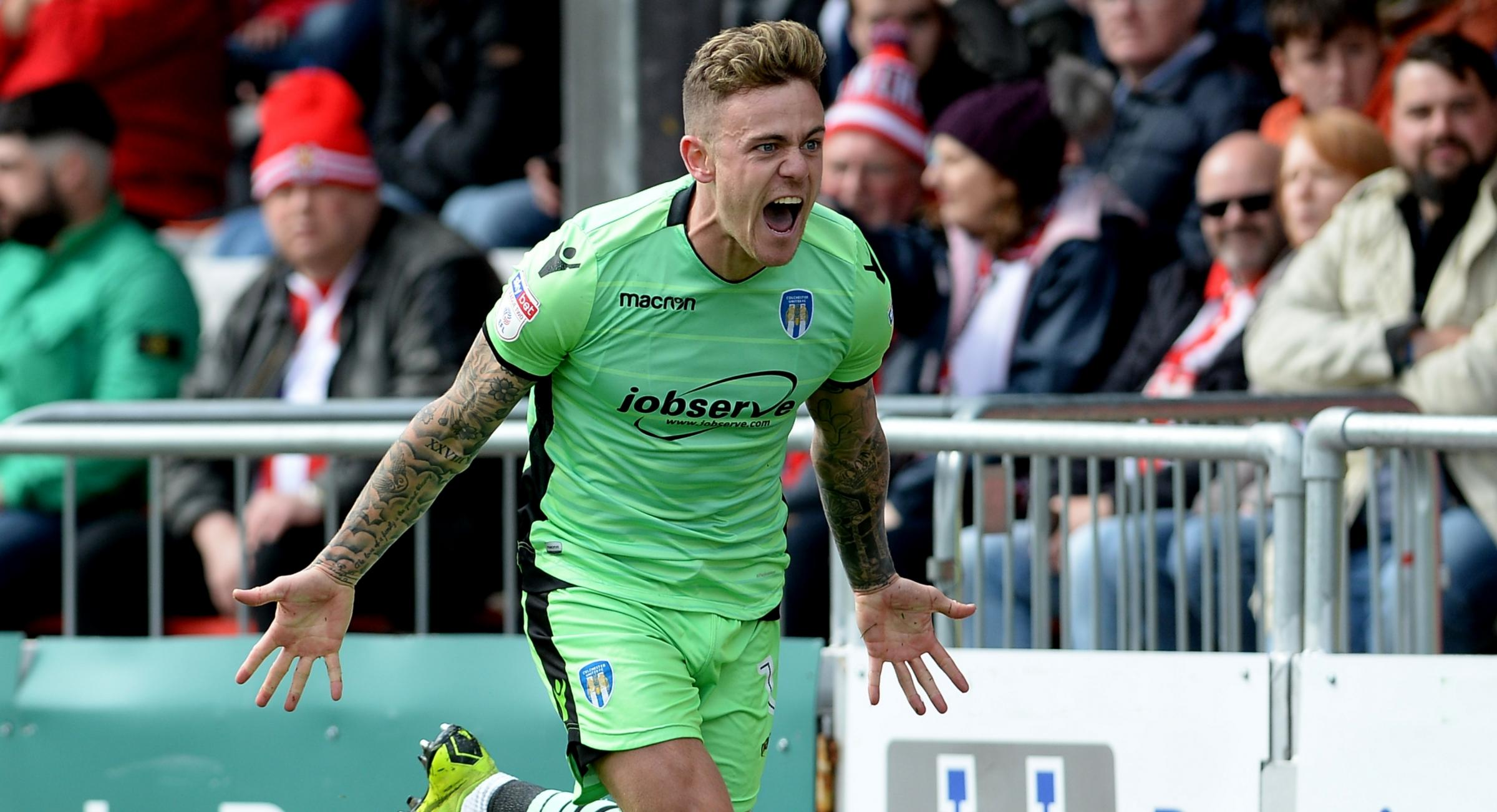 Asset - Colchester United top-scorer Sammie Szmodics has been linked with a move to the Championship Picture: PAGEPIX