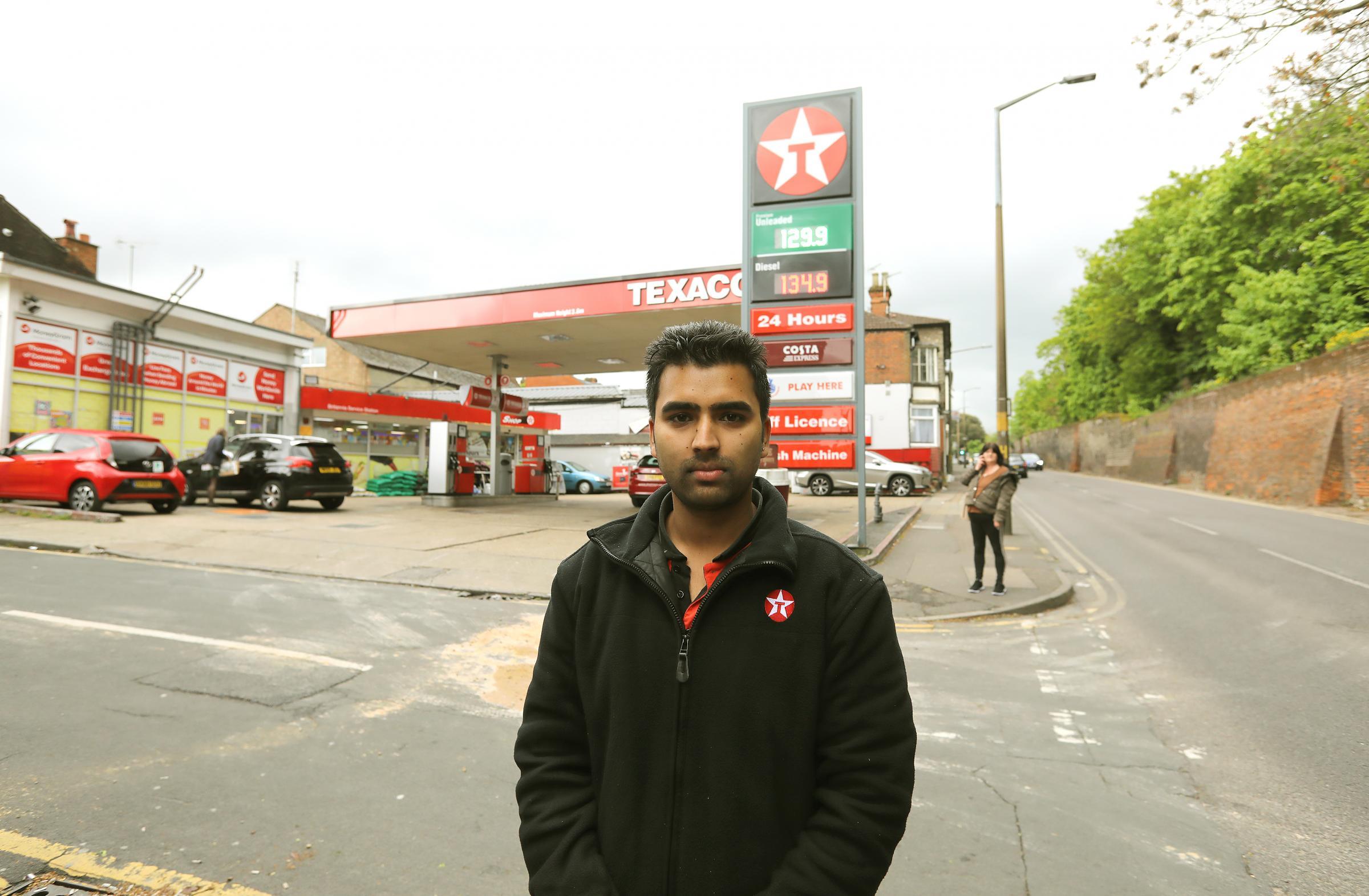 Heroes save man in petrol station drama in Mersea Road | Gazette