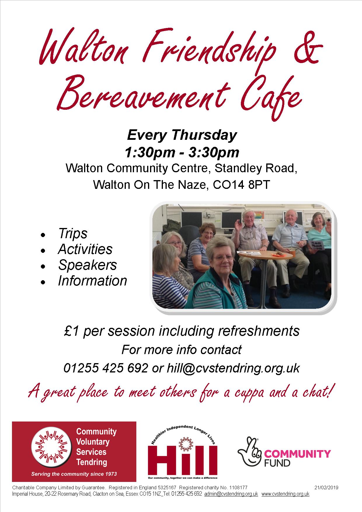 Walton Friendship & Bereavement Cafe