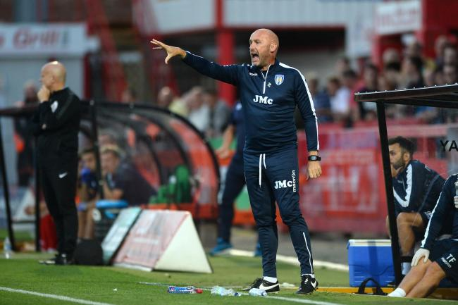 Speculation - Colchester United head coach John McGreal has been linked with the vacant Tranmere Rovers job Picture: RICHARD BLAXALL