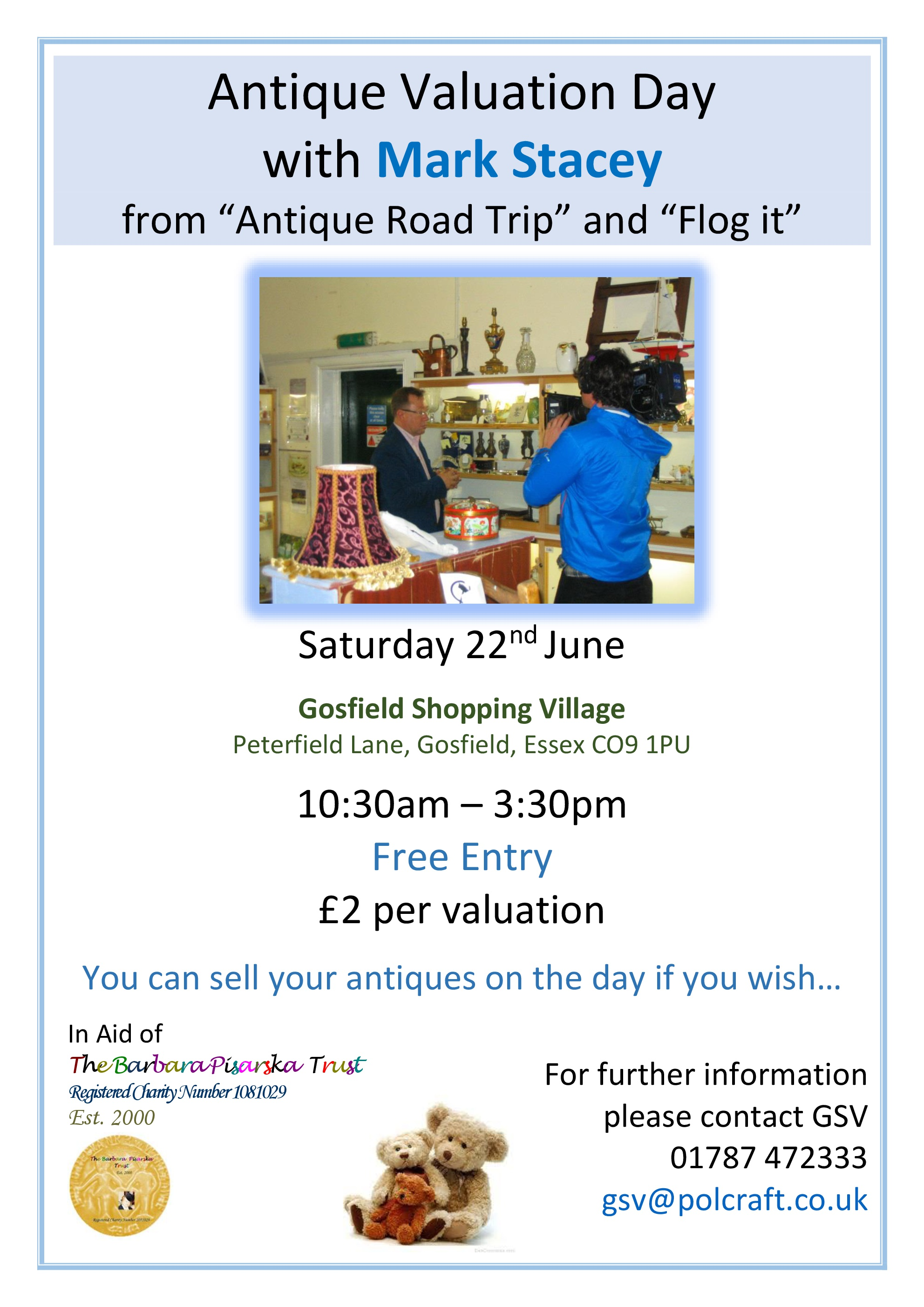 Valuation Day with Mark Stacey