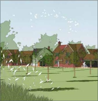 Plans for the 201 homes in Mersea