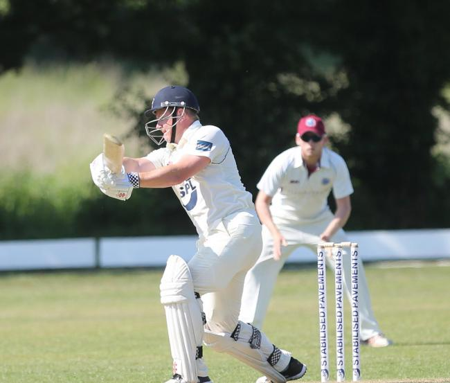 Feeling upbeat: Frinton vice-captain Michael Griggs.
