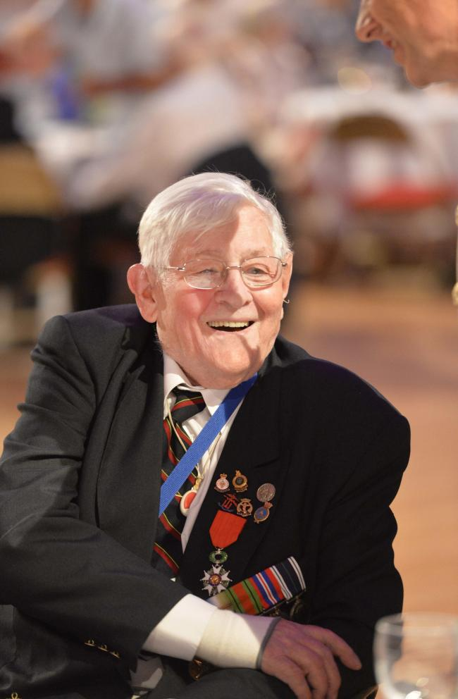 Veterans tea dance in The Clacton Town HallJohn Stansfield