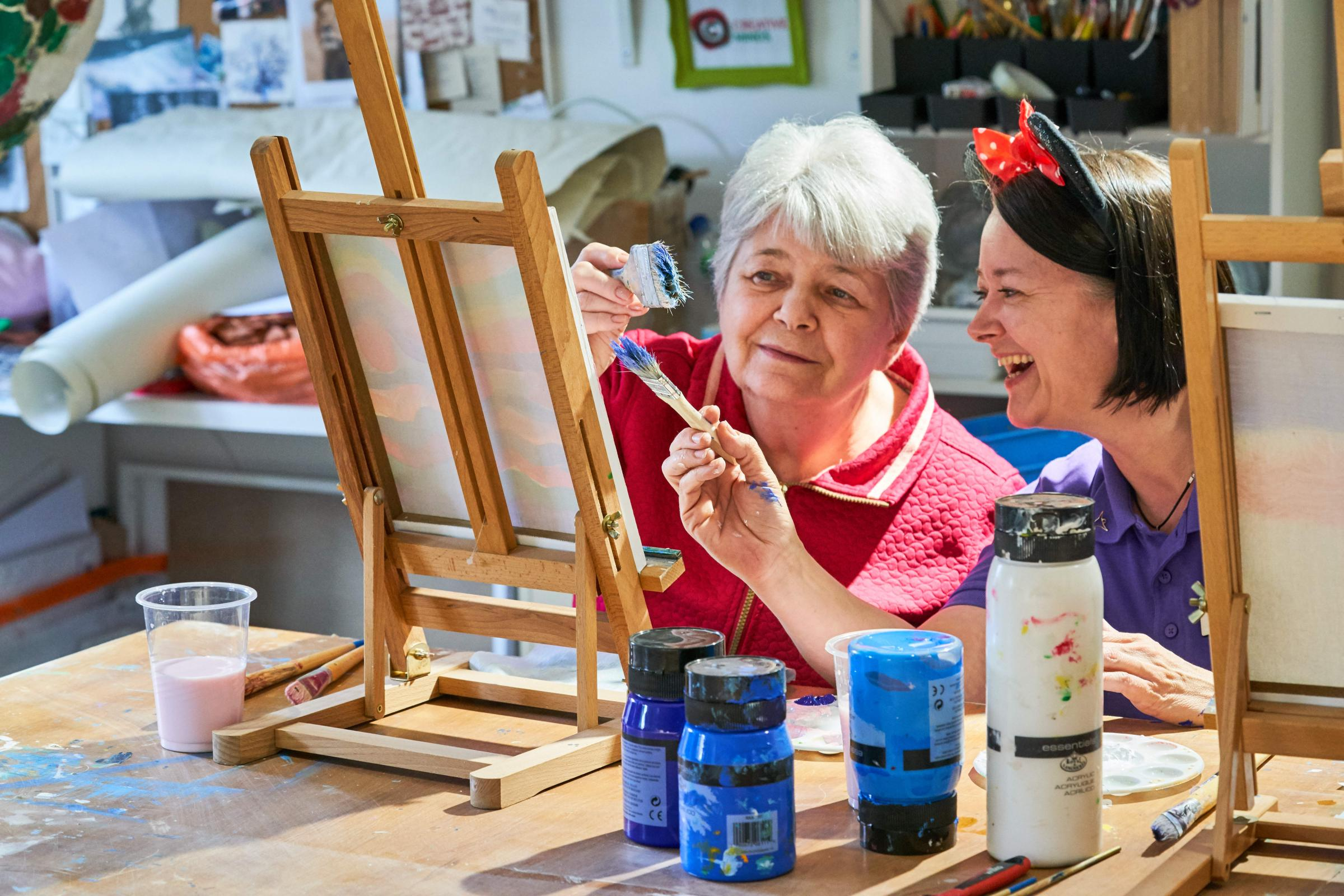 Get creative in Halstead this Care Home Open Day