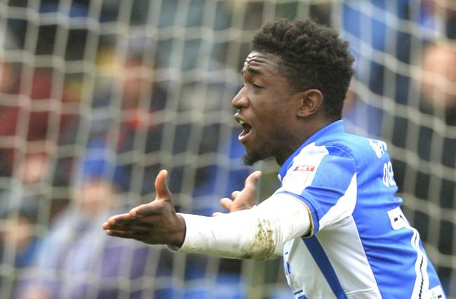 Staying put - Junior Ogedi-Uzokwe has extended his contract with Colchester United until 2020 Picture: STEVE BRADING