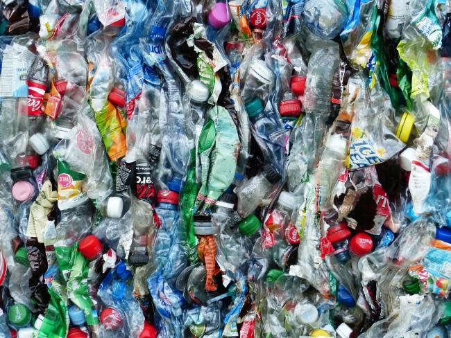 Stock picture of plastic