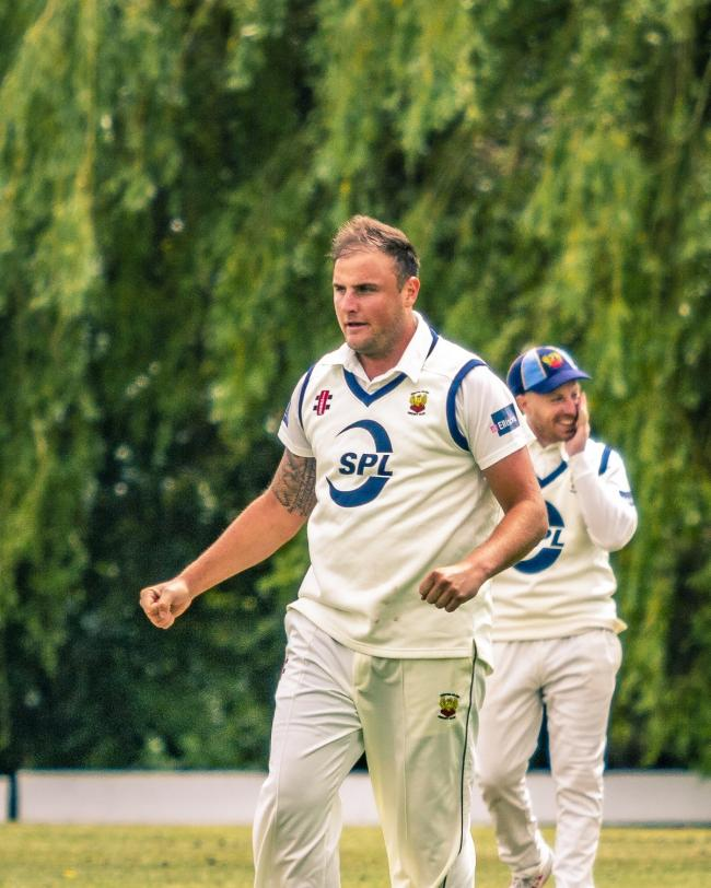 Frinton Cricket Club captain Mike Comber Picture: Rob Smith (RJS Photography)