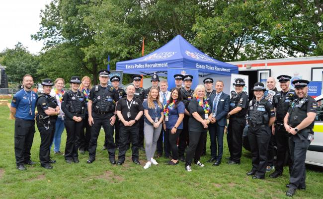 Pride - Essex Police played a big part in Essex Pride in Chelmsford